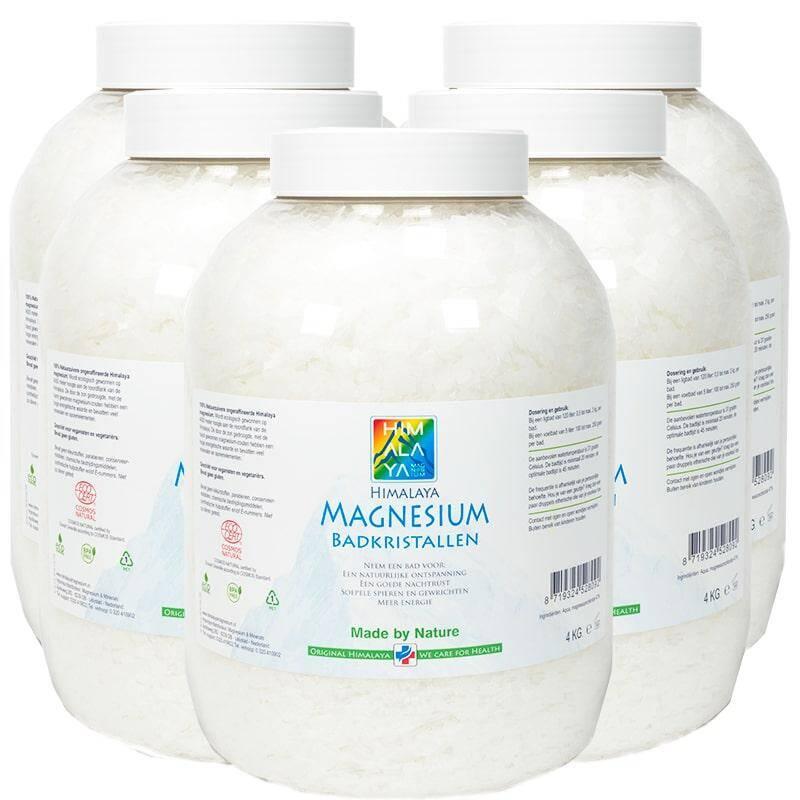 Magnesium badkristallen 20 kg