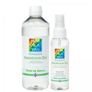 500 ml en 100 ml himalaya magnesiumolie