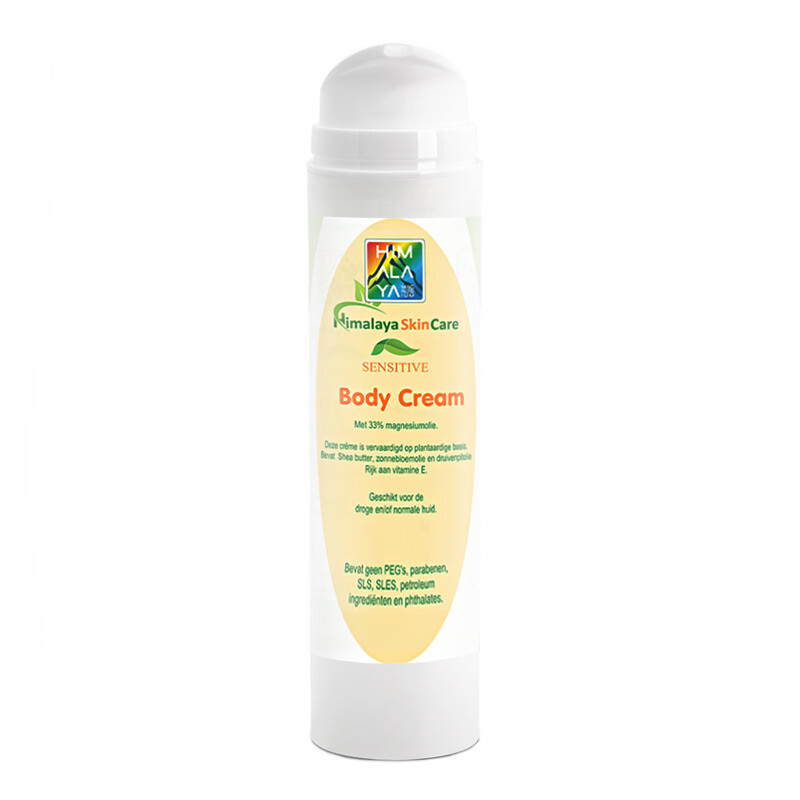 Himalaya magnesium body cream voor de huid