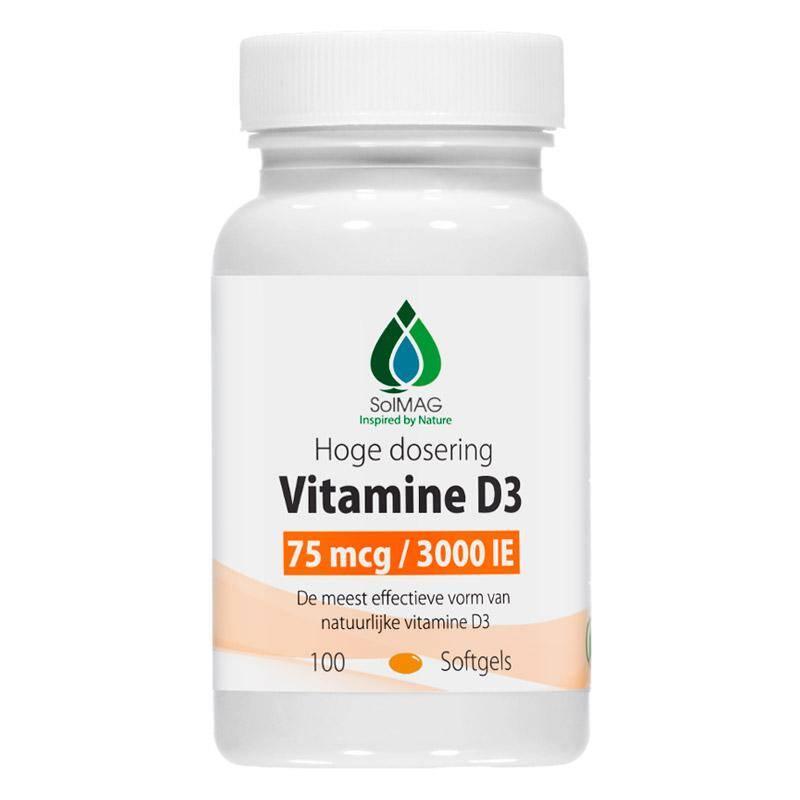 vitamine D3 3000 IE softgels