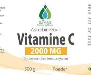 Etiket Solmag vitamine c poeder