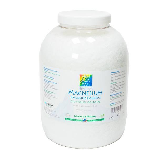 De Beste Magnesium Vlokken van Himalaya Magnesium voor een voetenbad