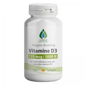 vitamine D3 5000 IE Softgels