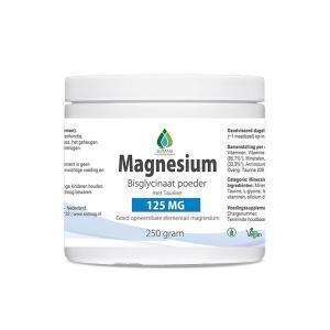 Magnesium bisglycinaat poeder 125 mg van Solmag